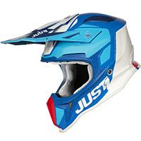 Casco Just-1 J18 Pulsar Blu Bianco