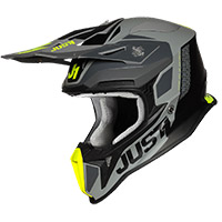 Just-1 J18 Pulsar Helmet Fluo Yellow Matt Black