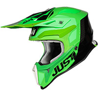 Casco Just-1 J18 Pulsar Verde Fluo