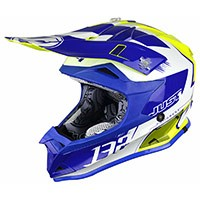 Just-1 J32 Pro Kick Junior Bianco Blue Giallo Bimbo