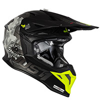 Just-1 J39 Kinetic Helmet Camo Grey Yellow