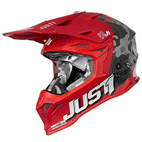 Just-1 J39 Kinetic Helmet Camo Red