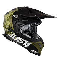 Just-1 J39 Kinetic Helmet Camo Green