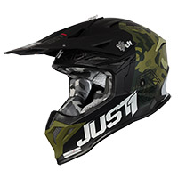 Casco Just-1 J39 Kinetic Camo Army Verde