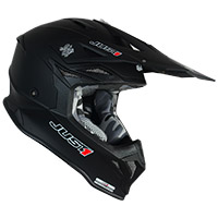 Casco Just-1 J39 Solid Nero Opaco