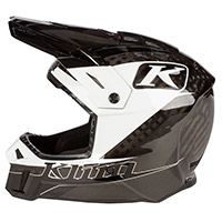 Klim F3 Carbon Draft Helmet White