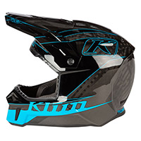 Casco Klim F3 Carbon Draft Vivid Blu