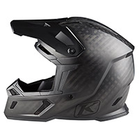 Casco Klim F3 Carbon Ghost Nero