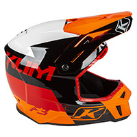 Klim F3 Prizm Helmet Orange Krush