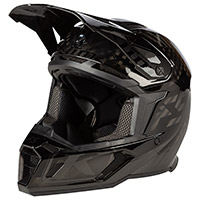 Casco Klim F5 Shred Asphalt Nero