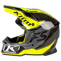Klim F5 Shred Hi-vis Helmet Yellow