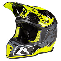 Casco Klim F5 Shred Hi-vis Giallo