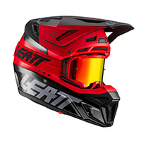 Leatt 8.5 V21.1 Helmet Red Black