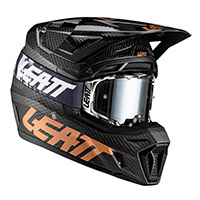 Leatt 9.5 Carbon V21.1 Helmet Black Gold