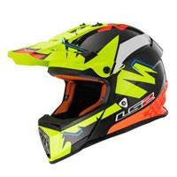 Ls2 Fast Mx437 Volt Black/orange/yellow H-v