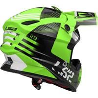 Ls2 Light Evo Mx456 Rallie Verde/nero