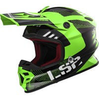 Ls2 Light Evo Mx456 Rallie Verde/nero