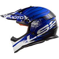 Ls2 Fast Mx437 Gator Bleu