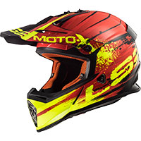 Ls2 Fast Mx437 Gator Rosso