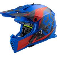 Ls2 Fast Evo Mx437 Alpha Nero Blu