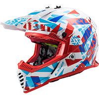 Ls2 Fast Evo Mx437 Funky Red White