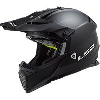 Ls2 Fast Evo Mx437 Solid Nero Opaco