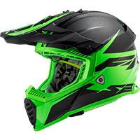 Ls2 Fast Evo Mx437 Roar Matt Black Green