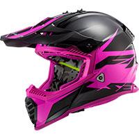 Ls2 Fast Evo Mx437 Roar Matt Black Purple