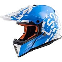 Ls2 Fast Mx437 Spot Bianco Blu