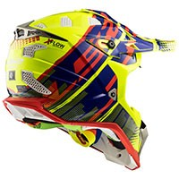 Ls2 Mx470 Subverter Bomber H-v Yellow Blu Red