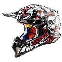 Ls2 Mx470 Subverter Voodoo Black White Red
