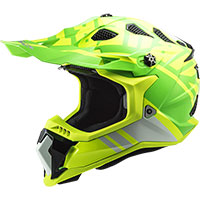 Casco LS2 MX700 Subverter Evo Gammax amarillo verde