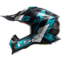 Ls2 Mx470 Subverter Max Black Turquoise