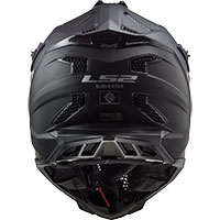 Ls2 Mx470 Subverter Noir Nero Opaco - 4
