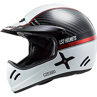 Ls2 Xtra Carbon Mx471 Yard White Red