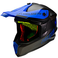 Casco Mt Helmets Falcon System D7 azul