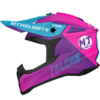 Casco Mt Helmets Falcon System B8 rosa