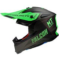 Casco Mt Helmets Falcon System D6 verde