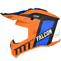 Casco Mt Helmets Falcon Warrior C4 Arancio