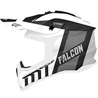 Casco Mt Helmets Falcon Warrior B0 Bianco