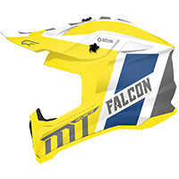 Casco Mt Helmets Falcon Warrior A3 Giallo