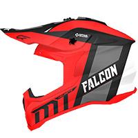 Casco Mt Helmets Falcon Warrior C5 Rosso