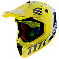 Casque Mt Helmets Falcon Warrior A3 Jaune