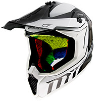 Casco Mt Helmets Falcon Warrior B0 blanco