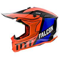 Casco Mt Helmets Falcon Warrior C4 naranja