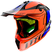 Casco Mt Helmets Falcon Warrior C4 Arancio