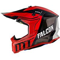 Casco Mt Helmets Falcon Warrior C5 rojo