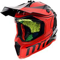 Casque Mt Helmets Falcon Warrior C5 Rouge