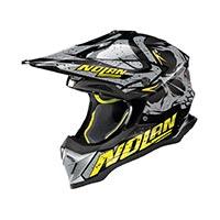 Nolan N53 Buccaneer Offroad Helmet Gray Yellow