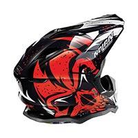 Nolan N53 Buccaneer Offroad Helmet White Black Red